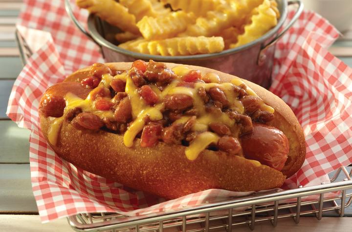 Chili Dogs S W Beans Recipe