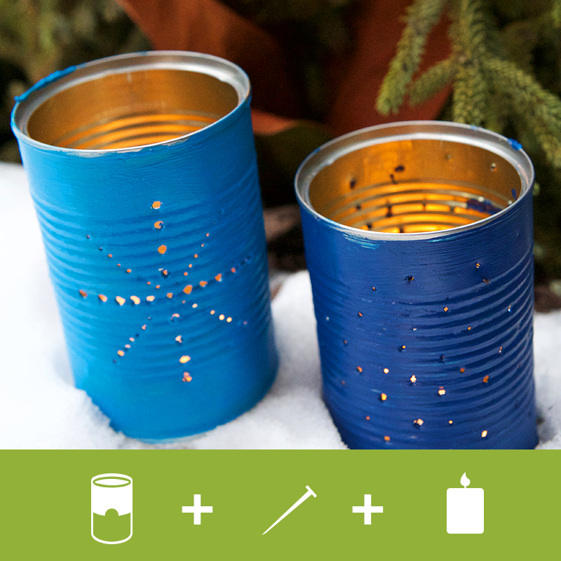 Find craft ideas to recycle bean cans s w beans for Tin cans for crafts